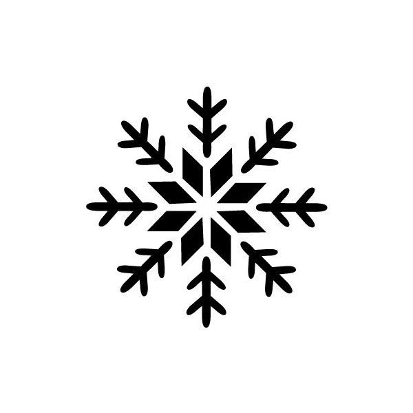 snowflake printable stencils to use for decorating cake