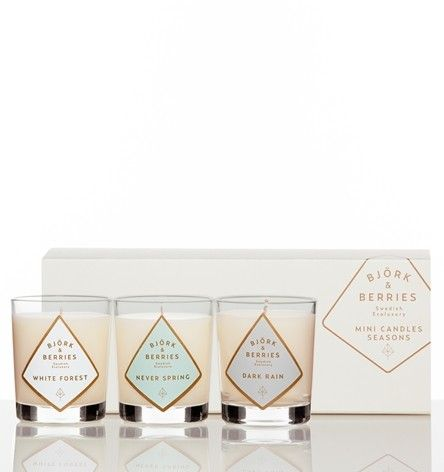 Björk & Berries Mini Candles Seasons | Fina Mig