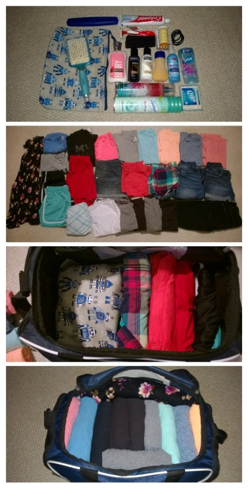 Packing tips- over packing for a week in a small duffel bag http://jessicascrumpleddiary.blogspot.com/2014/06/packing-tips-overpacking-for-one-week.html