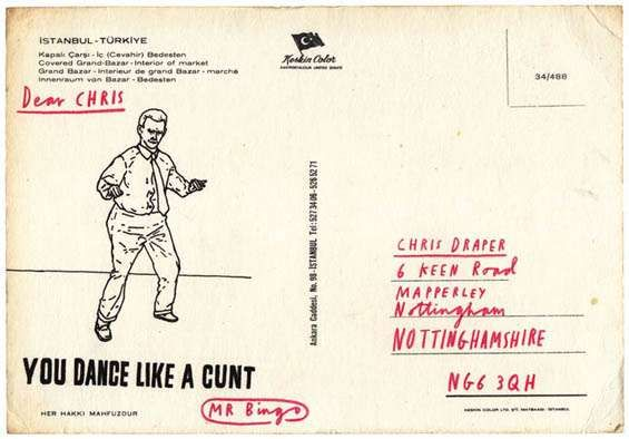 Hate Mail For Hire: Mr Bingo Send Postcards With Nasty Messages To Your Friends