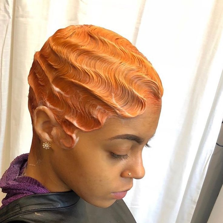 Finger Wave Wig Perm In 2020 Finger Waves Short Hair Hair Waves Short Hair Styles