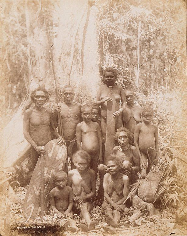 Australian aboriginals ca 1890