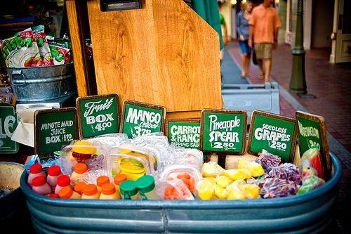 Image result for disney main street fruit cart