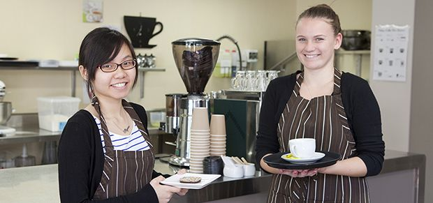 Hawker College students study hospitality