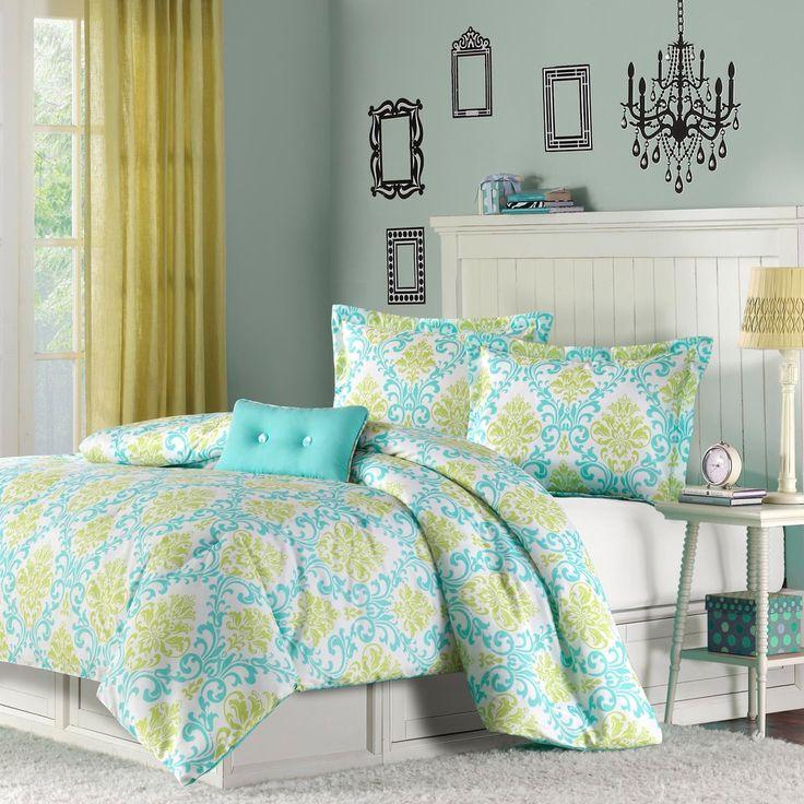 mi zone paige 4piece comforter set by mizone