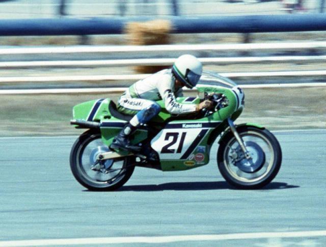 80 AMA Eddie Lawson Kawasaki KR250