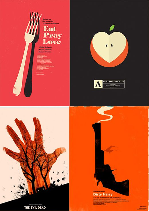 A Brief History of Minimalist Graphic Design/Poster Prints