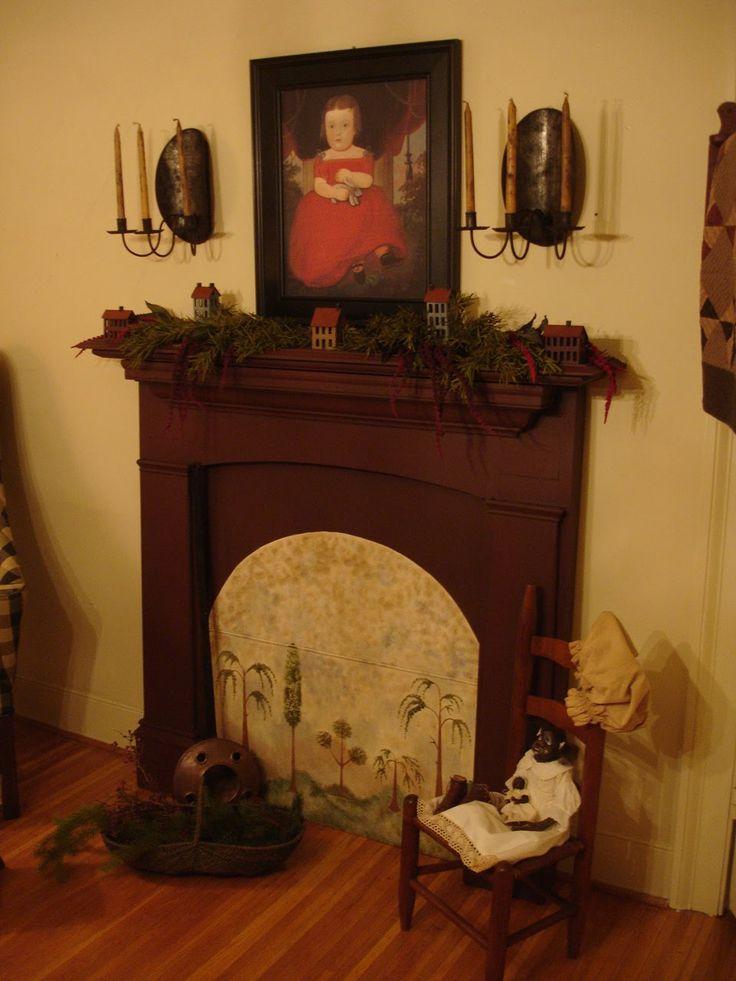 Best 25 Primitive Fireplace Ideas On Pinterest Cozy
