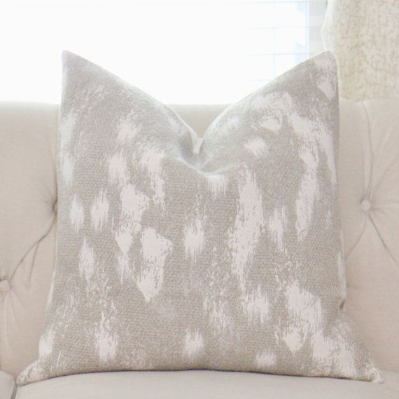 Neutral Pillow Cover  Sweater Pillow Cover  Ivory by MotifPillows