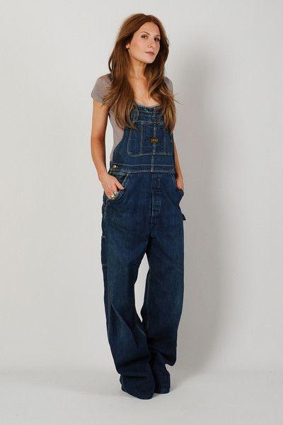 Overalls Are Making A Comeback As The Latest Fashion Trend: Denim Suspender Bib Overalls S SOLD