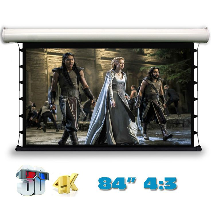 Compare Price Jingke 4K 3D Top-ranking Electric Tab-Tension Projection Screen 84 inch 4:3 Motorized Projector Screens for LED LCD HD Cinema #Jingke #Top-ranking #Electric #Tab-Tension #Projection #Screen #inch #Motorized #Projector #Screens #Cinema