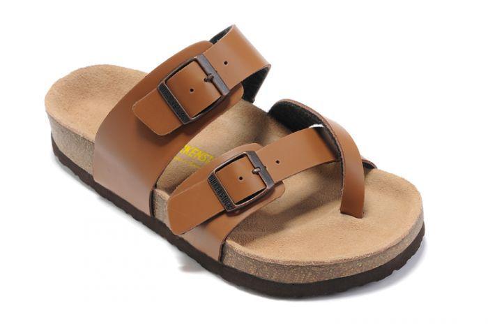 Men's Birkenstock Mayari Sandals Dark Orange  $48.71