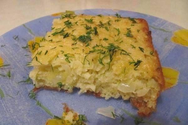 Невероятно быстрый капустный пирог