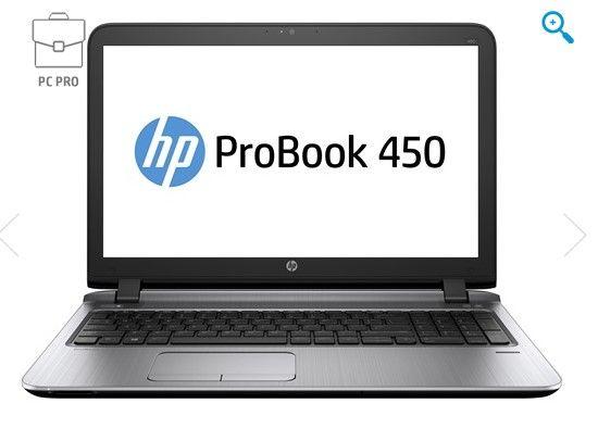 Pc Portable HP, achat HP ProBook 450 G3 pas cher prix Boutique HP 918.00 € TTC au lieu de 1 114.80 €