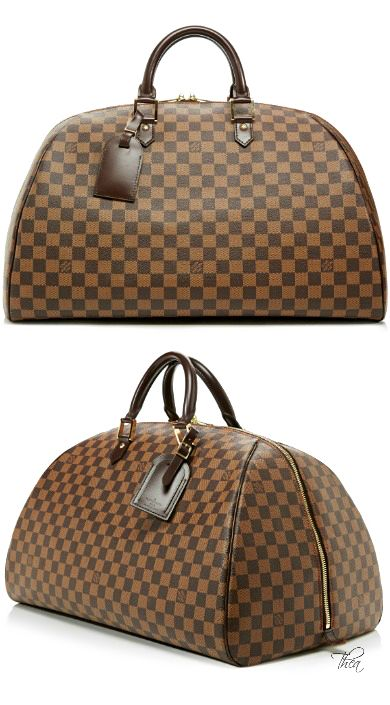 ~Vintage Louis Vuitton Damier Ebene Ribera GM | House of Beccaria