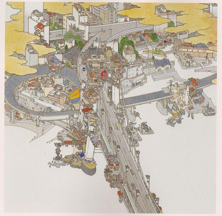 Yamaguchi Akira - Tokei (tokyo) - sho-da-furaku detail.