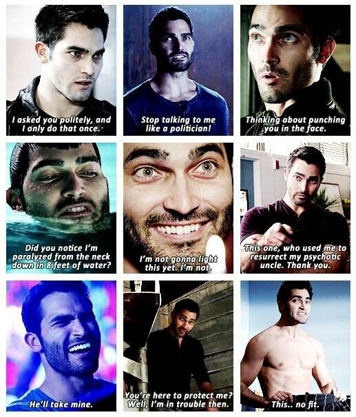 lol. funny derek hale quotes. :D