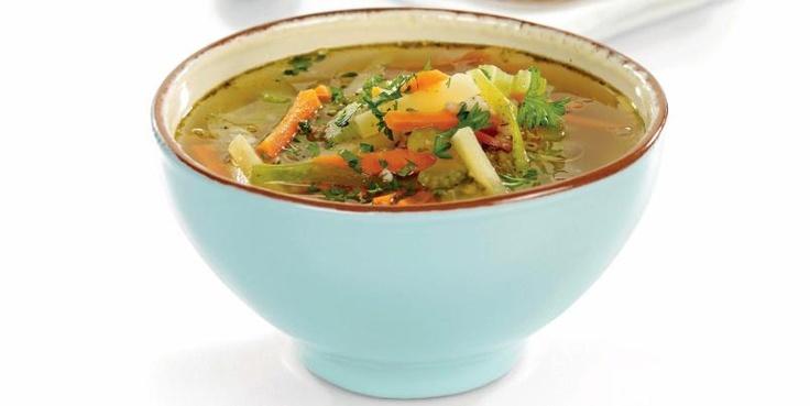 Vegetable Soup// 160 Cal per serve