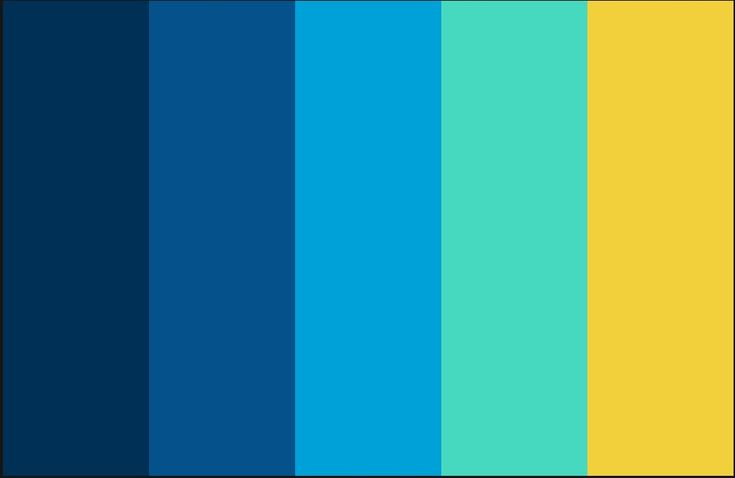 Blue and yellow color scheme yellow color schemes home for Blue and yellow paint combinations