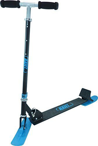 Full size kick scooter for the snow. The RAILZ patented skis are designed to turn and carve on snow exactly like a wheeled scooter does on pavement, and the snow brake allows you to slow and stop with confidence. RAILZ Scooters, the best scooters in the world!       Famous... more details available at https://perfect-gifts.bestselleroutlets.com/gifts-for-teens/skates-skateboards-scooters/product-review-for-railz-full-adult-size-recreational-snow-kick-scoo