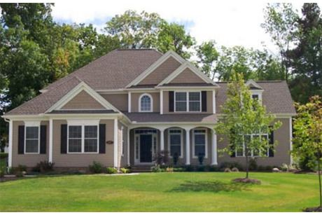 27 best images about front of house on pinterest house - Lennar homes interior paint colors ...