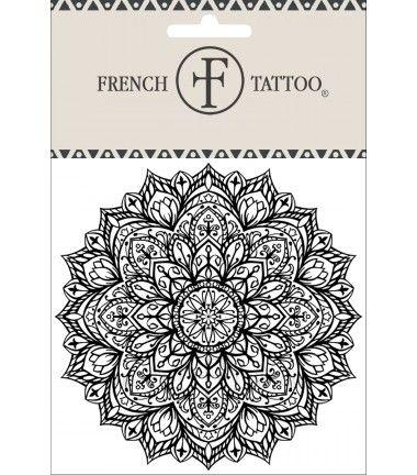 Mandala 2 - Tatouage éphémère