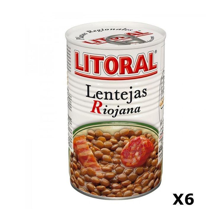Bestelling Linzen Riojana 430 Gr Litoral