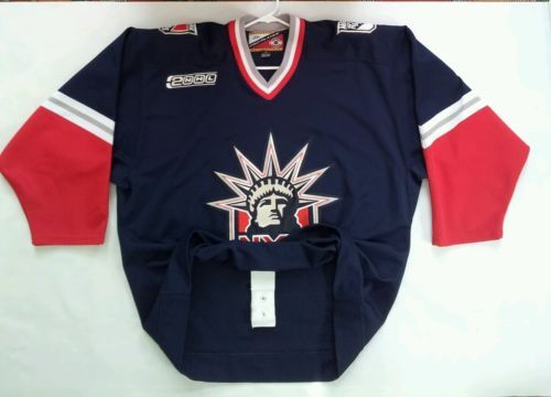huge discount 8aef1 26347 RARE PRO PLAYER AUTHENTIC CENTER ICE NY RANGERS