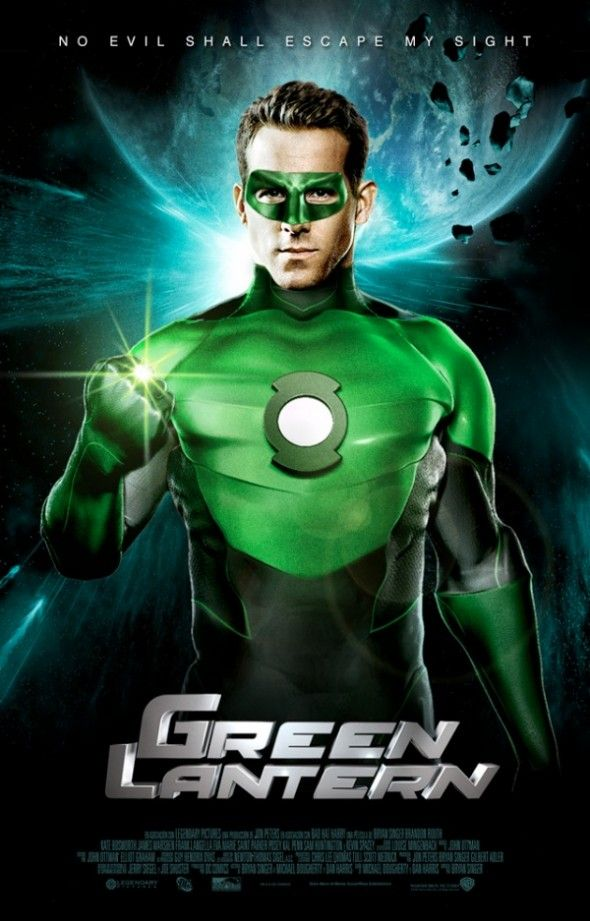 Script for Green Lantern