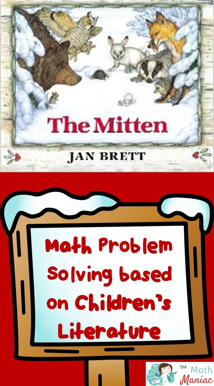 Solving story problems can help primary students develop an understanding of place value.  Come take a look at how you can use literature to develop rich problems and grab a FREE set of problems based on The Mitten.