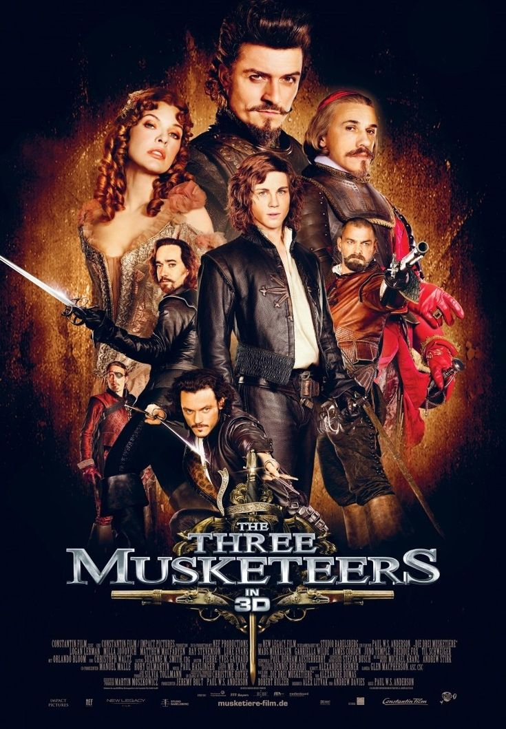 The Three Musketeers (2011) a film by Paul W. S. Anderson + MOVIES + Matthew Macfadyen + Logan Lerman + Ray Stevenson + Luke Evans + Milla Jovovich + Orlando Bloom + Christoph Waltz + Helen George + Christian Oliver + cinema + Action + Adventure + Romance
