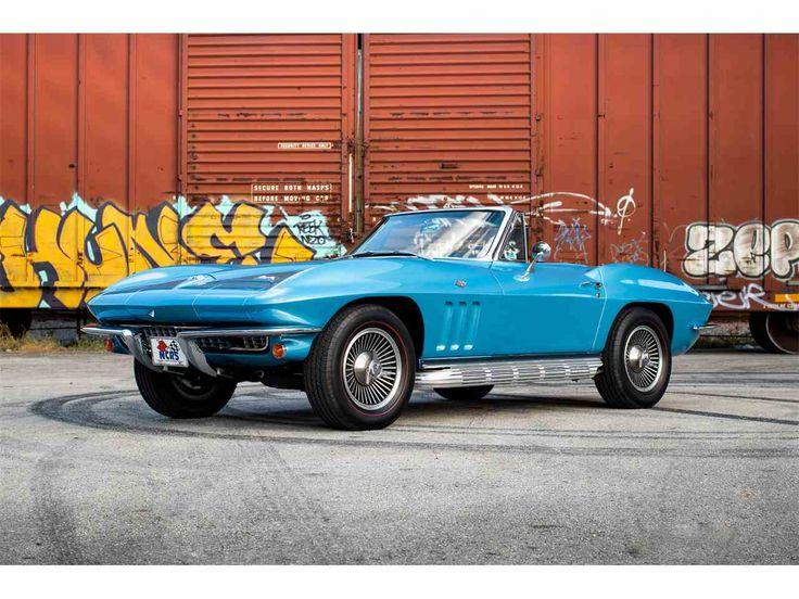 1966 Chevrolet Corvette for sale |  Listing ID:CC-1069932 | ClassicCars.com | #DriveYourDream | #Corvette #Chevy #Chevrolet