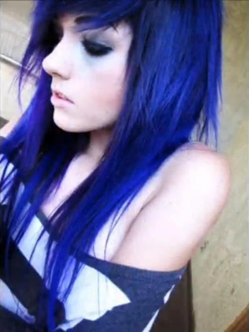 Black And Blue Scene Hair Leda 422 best Leda M...