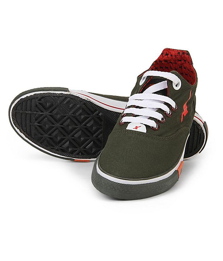 Sparx Men Olive Canvas Shoes