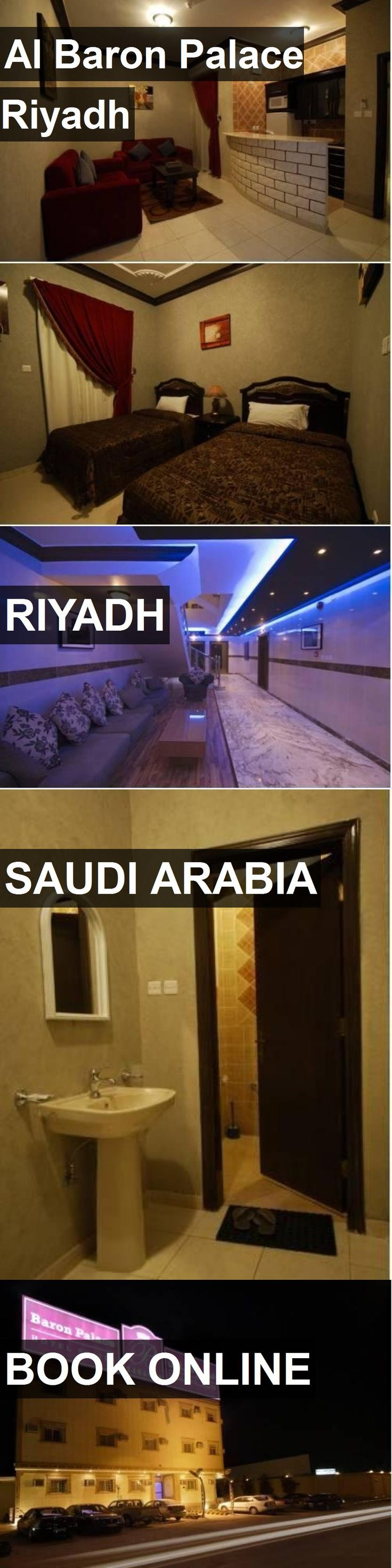 Hotel Al Baron Palace Riyadh in Riyadh, Saudi Arabia. For more information, photos, reviews and best prices please follow the link. #SaudiArabia #Riyadh #travel #vacation #hotel