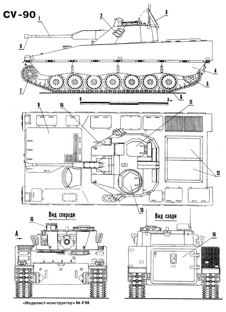 51 best Combat Vehicle 90 CV-90 images on Pinterest