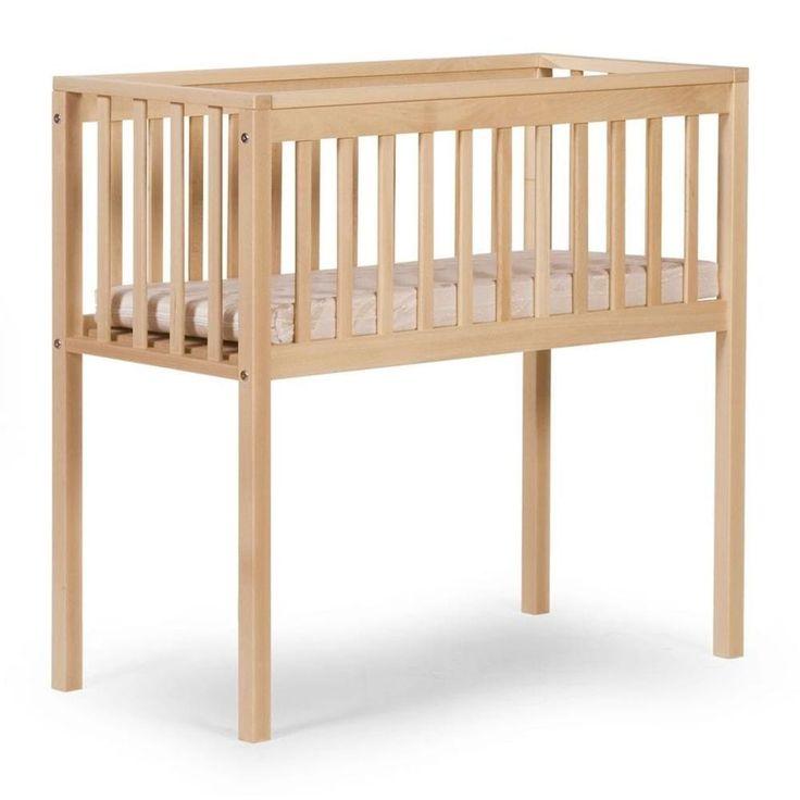 Baby Sleeping Crib Wooden Nursery Child Infant Toddler Comfortable Bedside Home #BabySleepingCrib #Crib