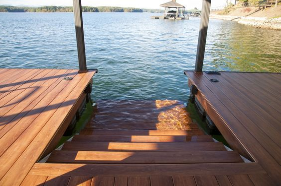 Every dock should have these! Only available at Kroeger Marine Construction Lake Keowee SC