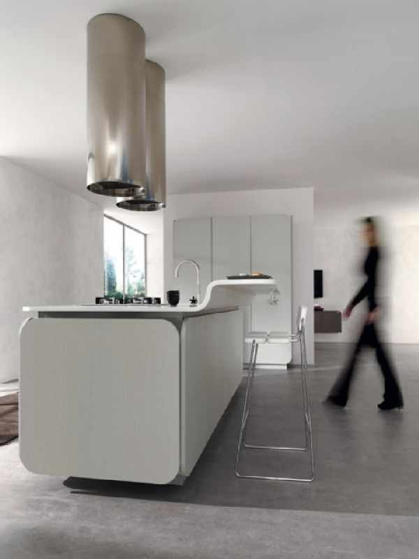 White Contemporary IT IS Kitchen Design Ideas for Euromob modern kitchen