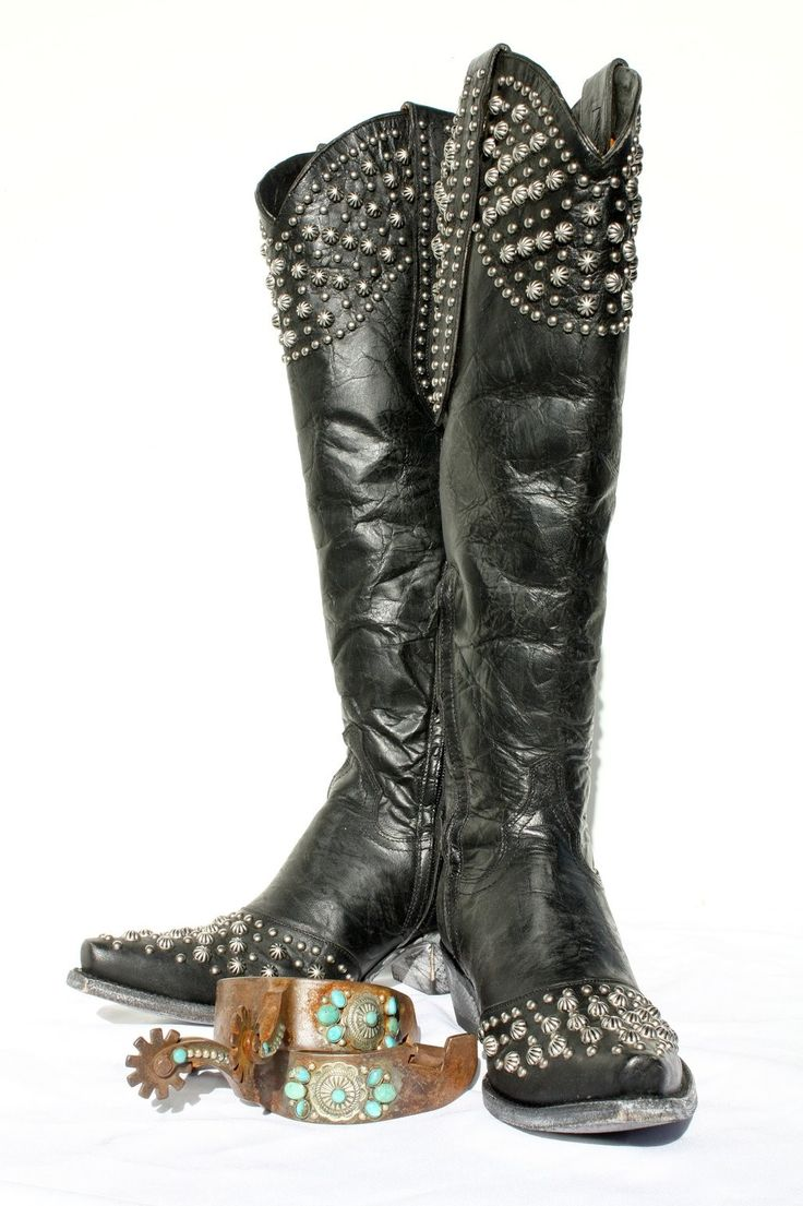 Old Gringo Tall Distressed Black Leigh Anne Boots http://www.cowgirlkim.com/old-gringo-tall-distressed-black-leigh-anne-boots.html