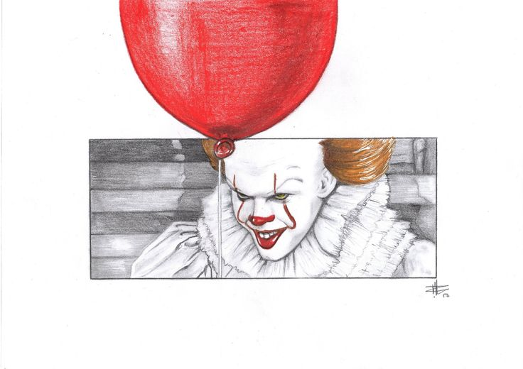Excited to share the latest addition to my #etsy shop: Pennywise The Clown / Stephen Kings IT / You'll float too / Killer Clown / Movie Fan Art / Movie Print / Wall Art #art #drawing #red #pennywise #it #stephenking #movieart http://etsy.me/2jBoGCs