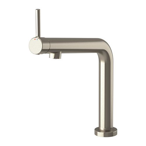 IKEA BOSJÖN Kitchen mixer tap Stainless steel colour 10 year guarantee. Read about the terms in the guarantee brochure.