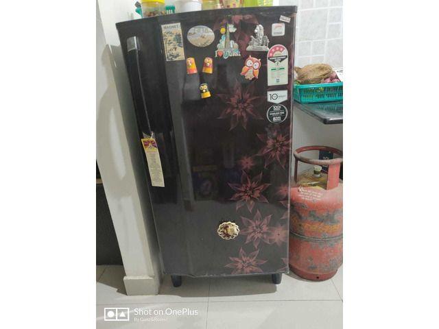 Gently Used Fridge Led Emergency Lights Home Appliances Locker Storage