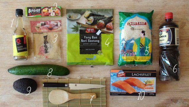 Unwritten: Sushi selber machen