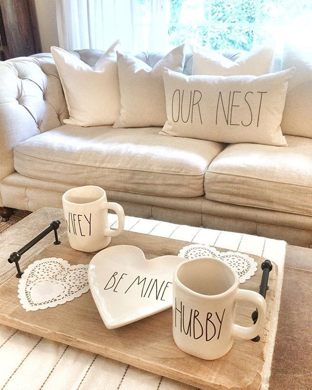 Farmhouse Inspiration | White Living Room | White Furniture | Our Nest