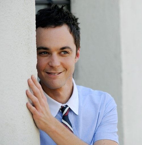 I love this picture of Jim Parsons!