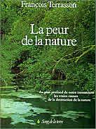 La peur de la Nature, livre de François Terrasson