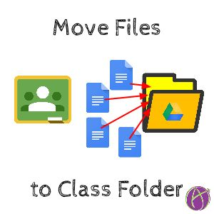 Move Files to Class Folder