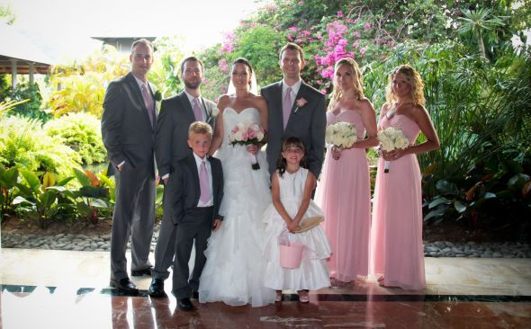 Grey Groomsmen And Pink Bridesmaids Any Pictures