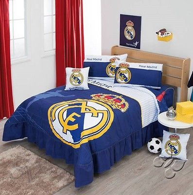 Club real madrid spain #football #soccer #bedspread cushions set new boys bedding,  View more on the LINK: http://www.zeppy.io/product/gb/2/231940538602/